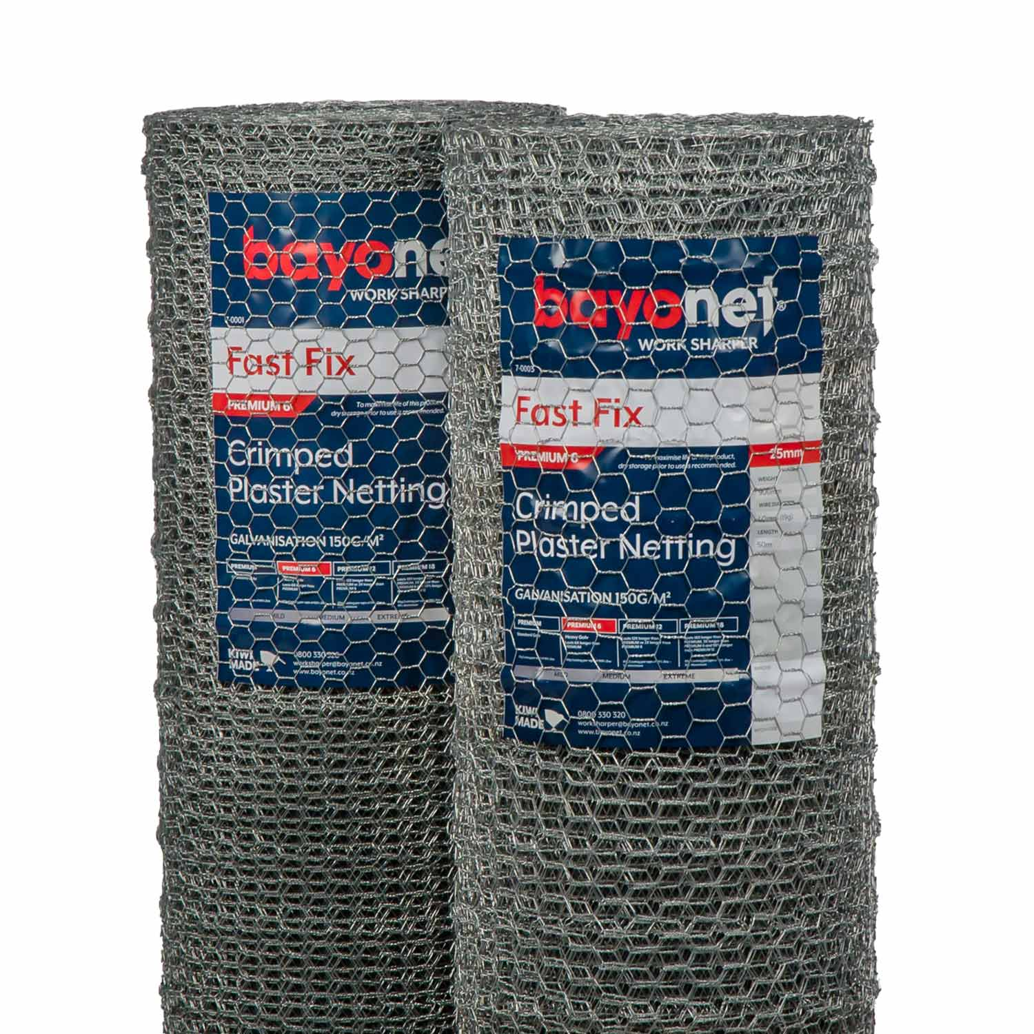 Fast Fix Hex Crimped Plaster Netting group