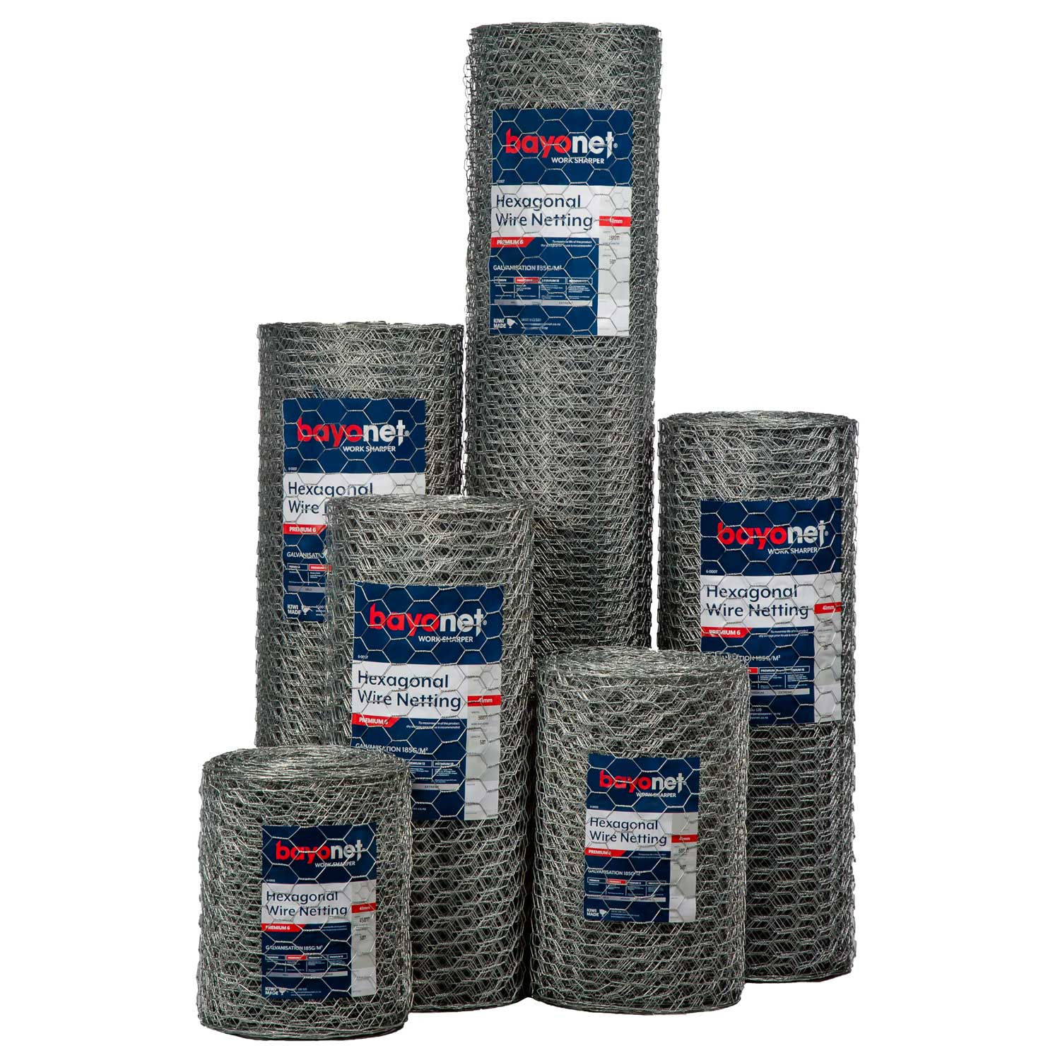 Hex Wire Netting Rabbit Proof Fencing group