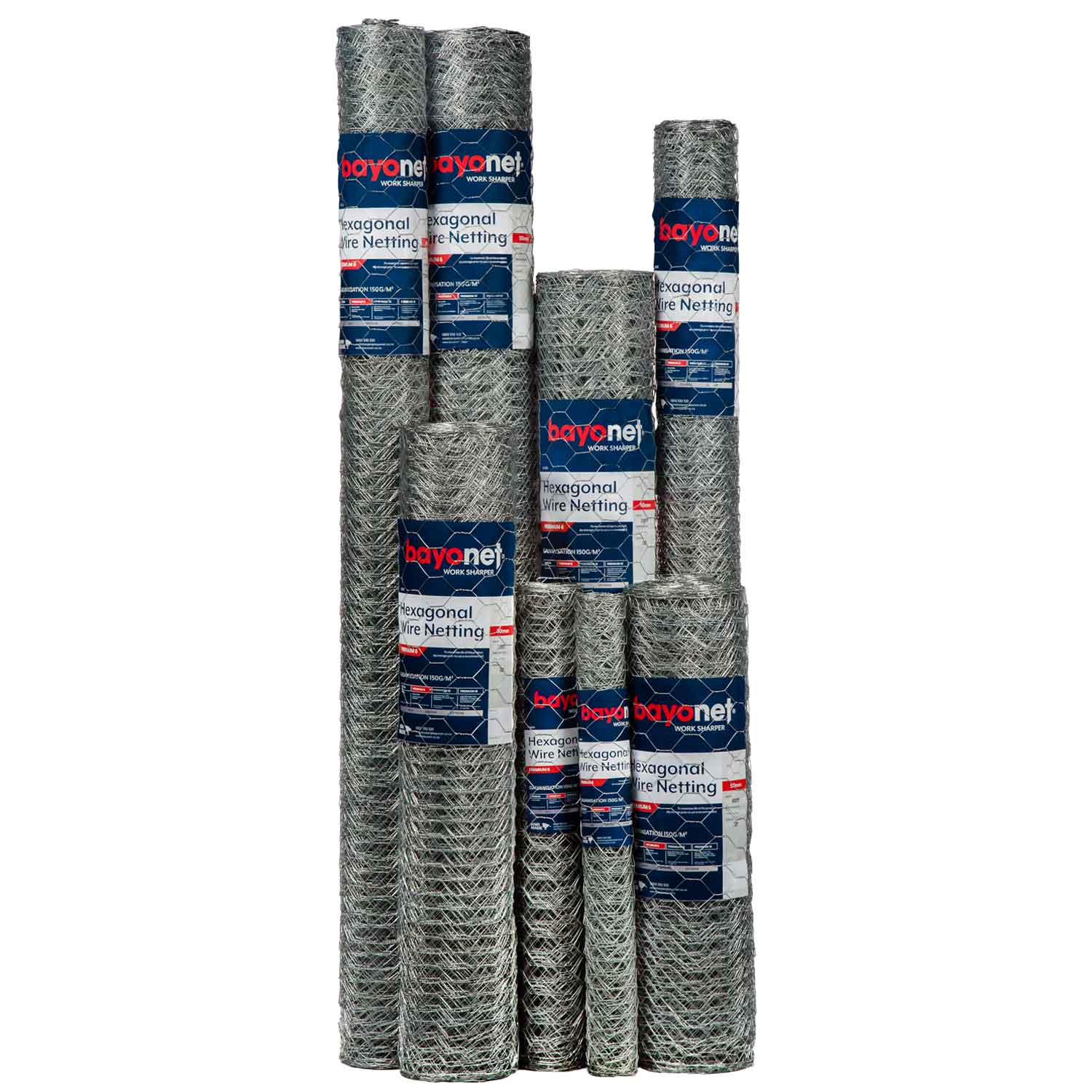 Hexagonal Wire 50mm group