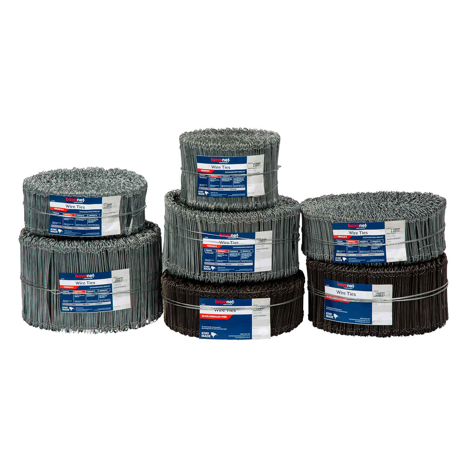 Tie wire bag ties group