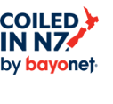 logo coiled in NZ by Bayonet